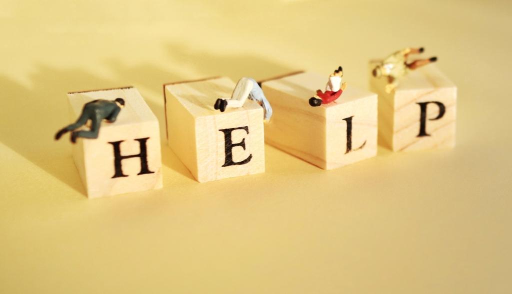 ヘルプの文字